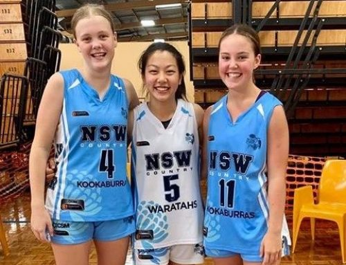 IAS Basketballers in Action for NSW Country