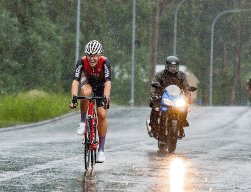 Hamer conquers the conditions to take first road race win