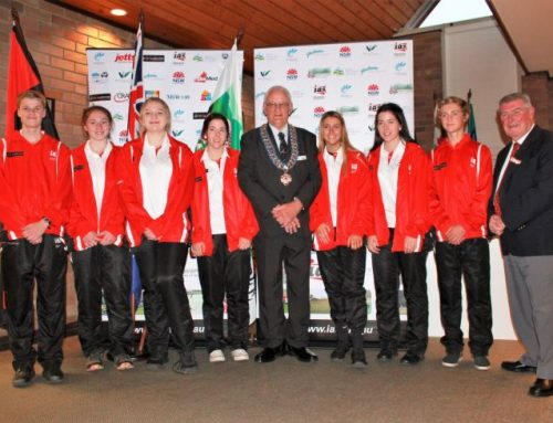 IAS Athletes at Wingecarribee Council Presentation