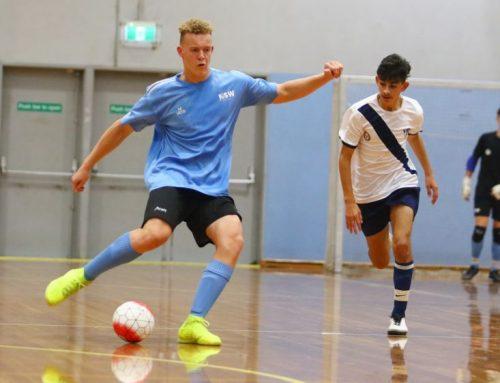 Brightman named in Australian Futsal Team