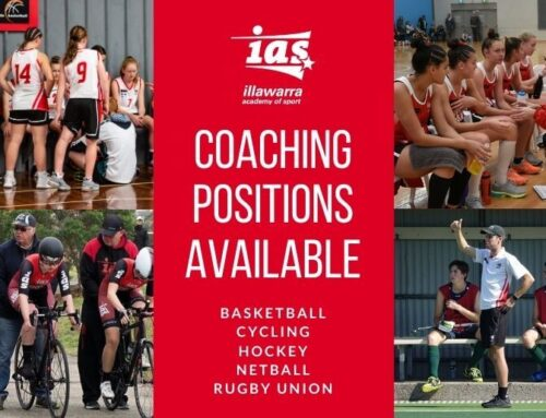 Coaching Positions Available