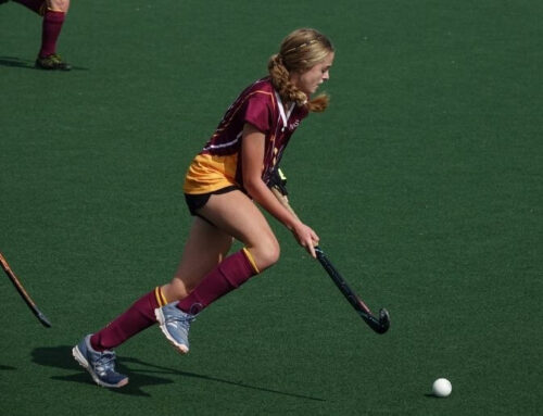 Imogen Fowles wins Hockey Athlete of the Year