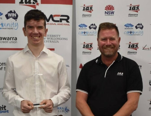 Cycling sensation Ryan Britten wins DRB Group Tobin Family Award