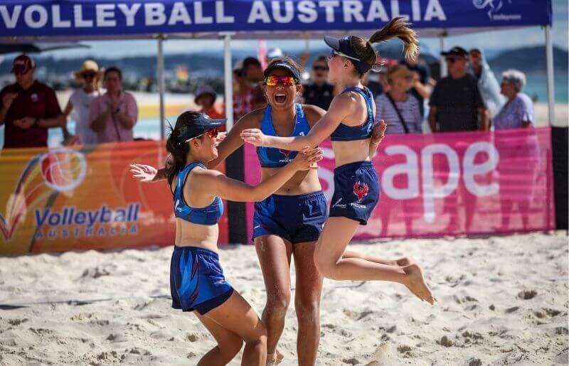 Australian Youth Beach Volleyball Championship title