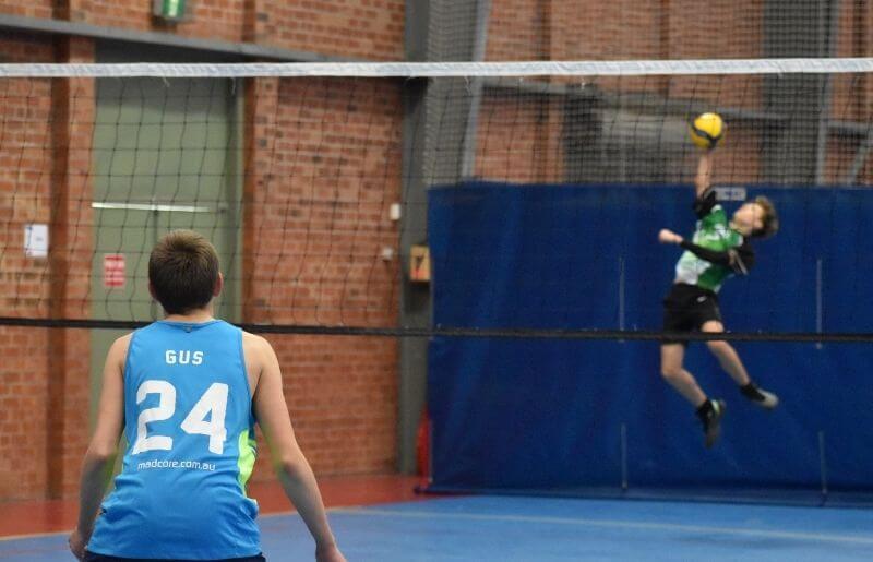 Volleyball trials