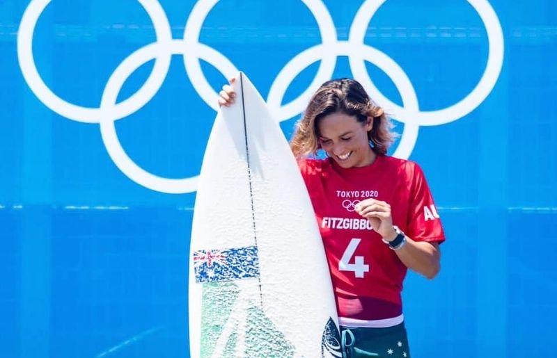 Sally Fitzgibbons Olympics debut