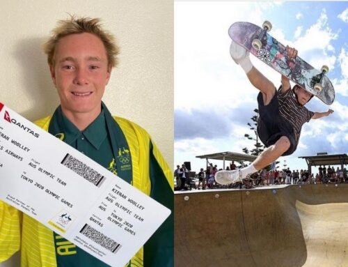 Kieran Woolley books his ticket to the Tokyo Olympic Games