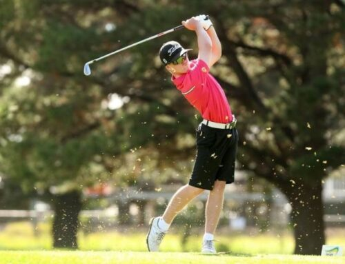 Harvey wins his fourth Golf Athlete of the Year Award