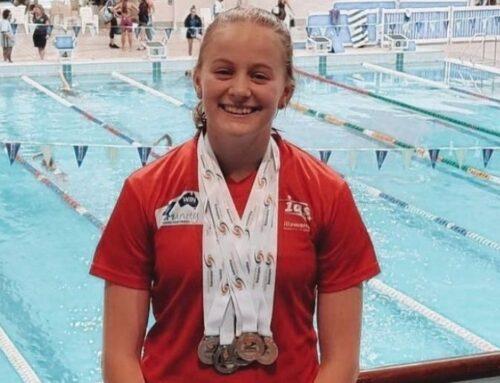 Swimming Athlete of the Year goes to Talika Irvine